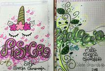 Decoracion para cuadernos