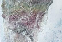 Fabric silk art