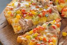 Pizza, Fladenbrot u.a.