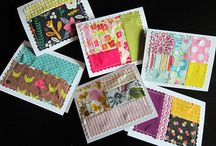 Scrap Quilting Ideas / Use your scraps! Quilts, cushions, wallhangings, cards...How do you use your scraps?