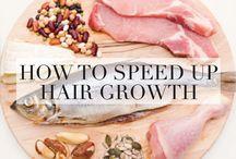 Heathy hair tips