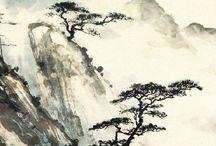 한국화산수