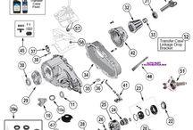 93-98 Grand Cherokee ZJ Parts Diagrams / by Morris4x4Center.com