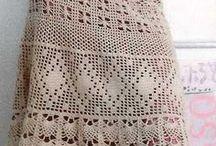 hermosas faldas a crochet
