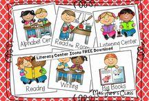 Centres d'aprenentatge llengua / Literacy Centers