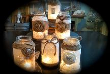Craft / Lace jars