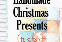 Handmade Gifts / Crafting your own gifts and holiday decor. Sewing, soaps, food, paper crafts, Christmas decor, etc.
