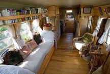 caravanas, casas mini