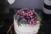 Autumn, winter cakes