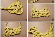 Knot necklace/paracord