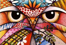 """Lançamento! / Lançamento!  Após alguns anos dedicados ao desenvolvimento da série intitulada """"Criação"""", com inspiração na fauna e flora brasileira, lançada este ano no Salão de Arte Contemporânea, no Carroucel Du Louvre em Paris, é com muita alegria que disponibilizo cinco trabalhos desta série para comercialização.  Muito agradecida ao Grande Criador pela inspiração e por mais uma etapa concluída! Interessados InBox. #Arte #Art #Criação #Série #lançamento"""