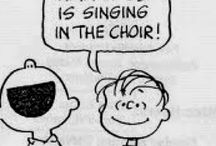 singing in the choir :)