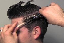 kreative klipper og styling på menn