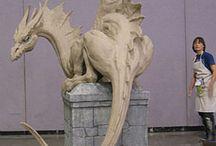 mystical statue's