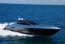 yachts/ships deep blue sea