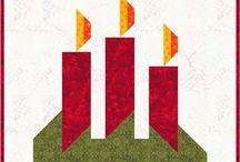 Quilt Blocks--- so fresh christmas quilt