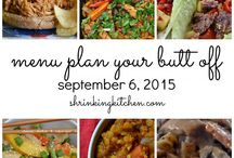 Menu Planning / by Elizabeth Hazel