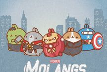 Molang and Kawaii