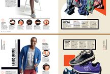Men's magazine layouts
