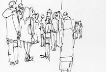 sketch examples for sketch crawl / by Carol Elder
