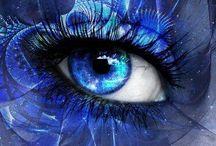 Azul e violeta