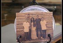 Photo Transfer wood