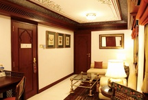 Presidential suite / Palace on wheels aboard Maharajas' Express, the World's Leading Luxury Train