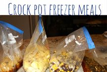 Freezer meals / by Dana Burland