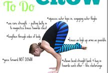 learn & grow {pose how to's} / How to tips + videos on various yoga poses. / by Tina Reale