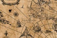 Mapas y barcos