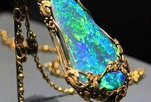Jewellery opal collection