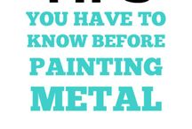 paint metal