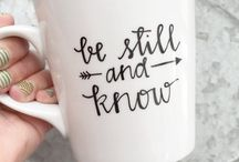 Cups and Bible verses
