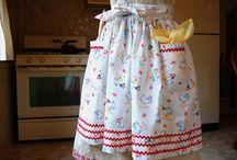 Sewing - Aprons and pajamas