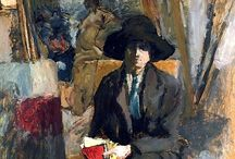 Expressionist/Impressionist/Post Impressionist/Fauve / Paintings mostly by expressionist artists.