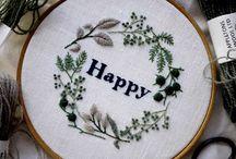 embroidery//needlework✂