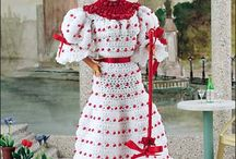 Free Dolls & Dollhouse Crochet Patterns / Make Something For Your Doll or Doll's House With A Free Pattern found here by a variety of designers! Click on the pictures to get to the pattern :) / by Sharon Ojala