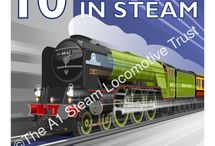Stephen Millership commissions / Recent work for clients such as A1 Steam Locomotive Trust,Ladybird books, W W Norton books,