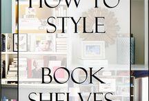 book shelves style