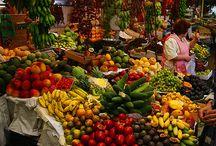 Targi warzywa owoce