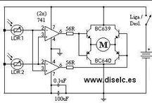 ısı, ışık, basınç,sıvı seviye kontrol devreleri ve malzemeleri