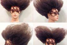 Unique hair / Special designs by Josh Benjamin