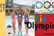 Kids Olympics Ideas with Free Invite