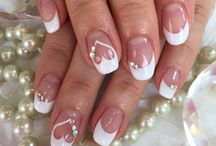 Nailed It / The right manicure will express the strength and elegance of a bride's hands, which will carry the bouquet, place a ring on her husband's finger, cut the cake, and be photographed, held and kissed on her big day.