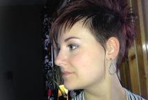 Haircut and color (me) / My cuts and color. All color is all me, and the cuts is made by my hair stylist Nermin and some of them by me :)