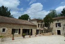 La Ferme de Myriam et son environnement (à Montayral) / Chambres d'hôtes et gites de location en Aquitaine - France à Montayral à 1h 30 de Sarlat, de Saint-Cys-la-Popie, à 2h 00 de Bordeaux et de Toulouse. Située à 5 mn du Chateau de Bonaguil, de bastides médiévales (Pujols, Monflanquin, Monpazier, Penne d'Agenais, Puy l'Evéque Vallée du Lot.