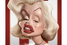Celebrity Caricatures / by Gerri Forester