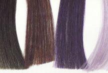 зима цвет волос