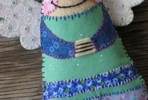 patchwork angel