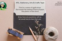 ATG TAPES, STATIONERY TAPES, ARTS & CRAFTS TAPES